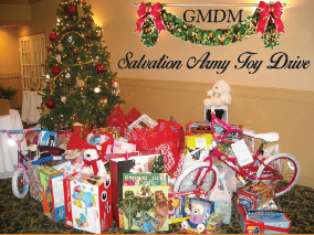 Salvation Army Toy Drive