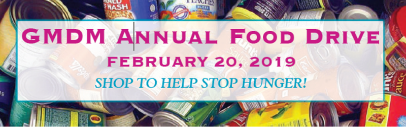 GMDM Food Drive for Greensboro Urban Ministry